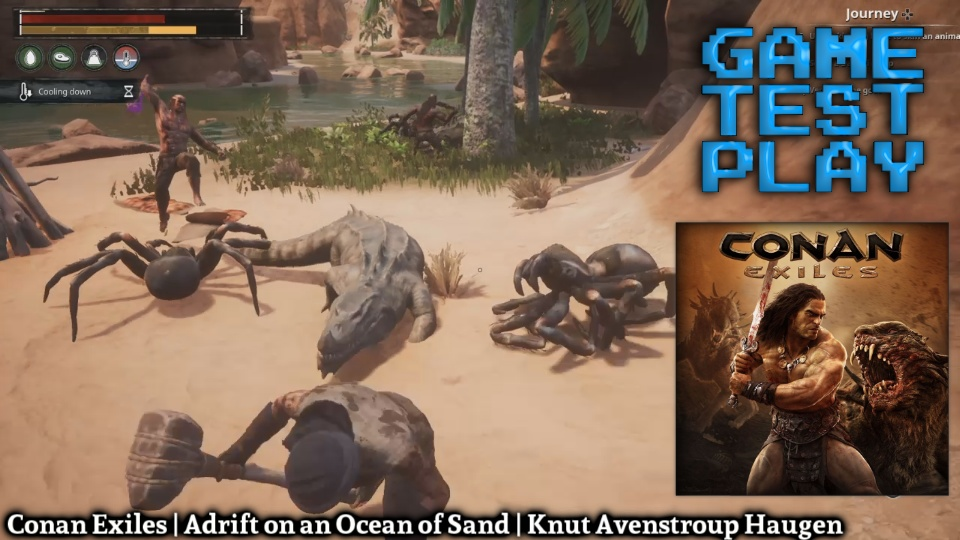 GAME TEST PLAY - Conan Exiles